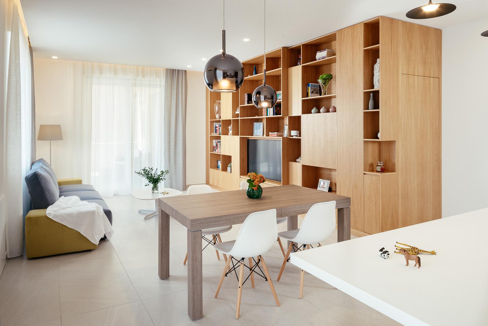 ristrutturazione appartamento falegnameria legno