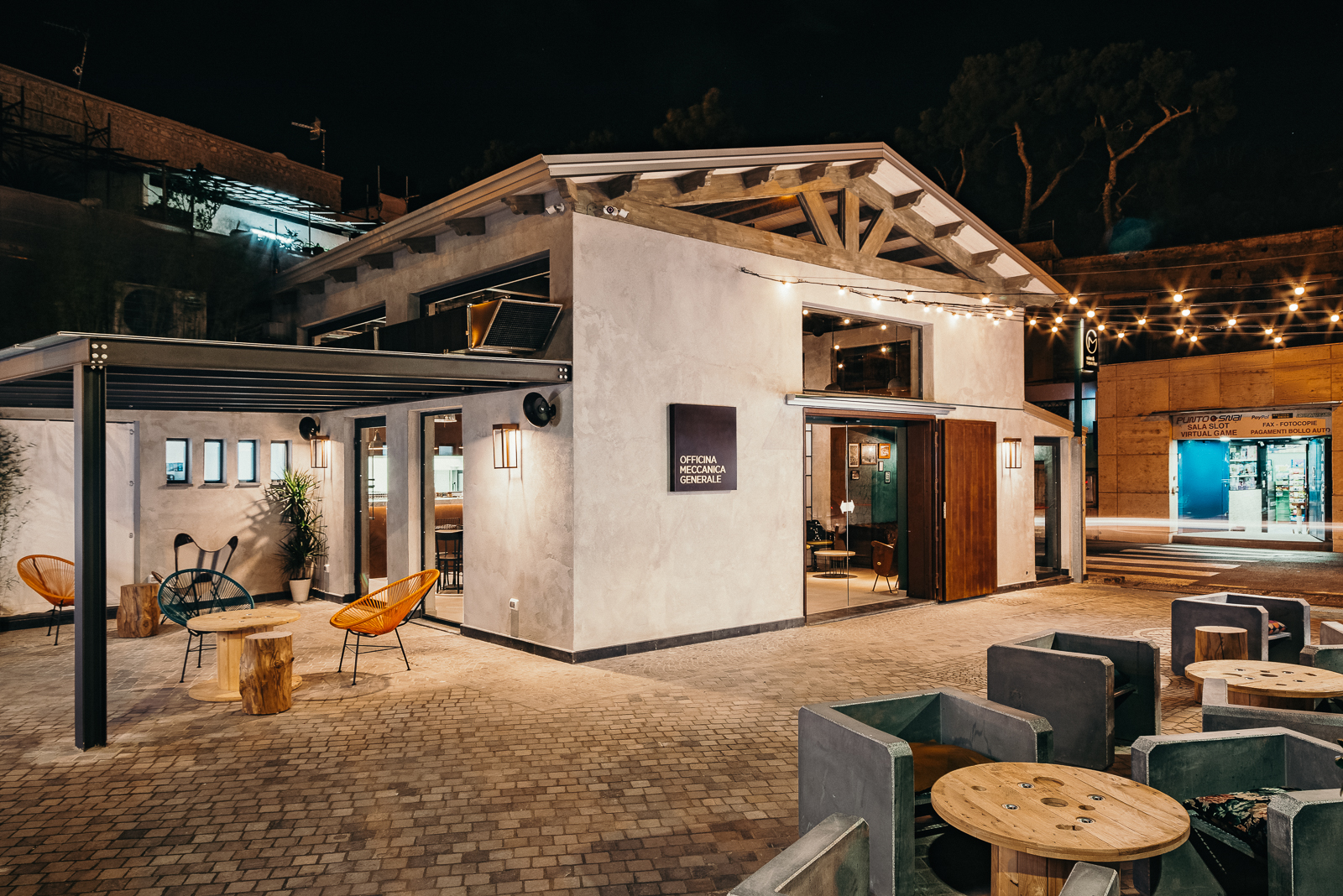 officina meccanica generale ristorante cocktail bar Bacoli
