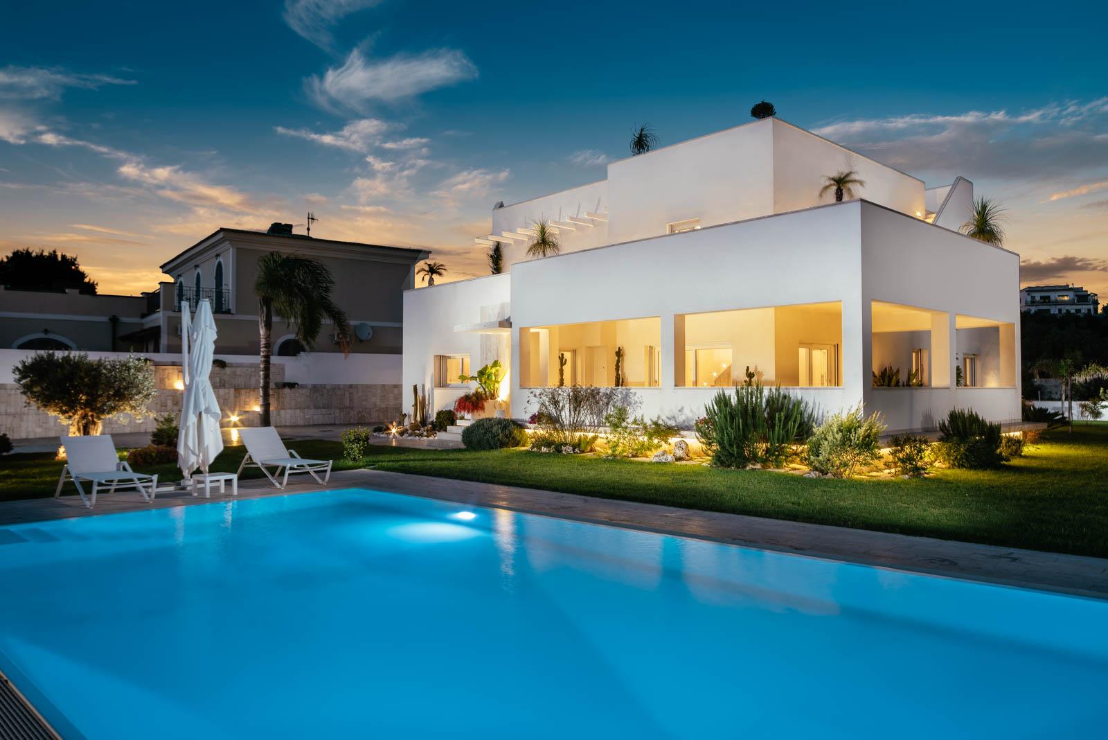 villa Passariello, progetto architettonico villa a Monte di Procida